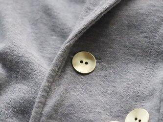 満月ボタン(真鍮製ボタン)19mm 5個セットの画像