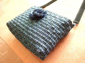 畳縁ショルダーバッグの画像