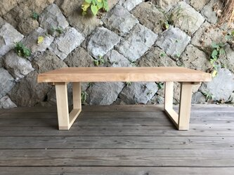 一枚板のローテーブル チェリーの画像