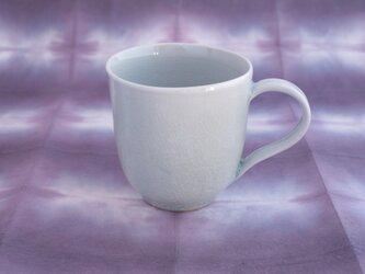 りんご灰釉 マグカップ〈花びら〉の画像