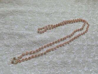シルクタッチのポリエステル糸で編んだグラスストラップの画像