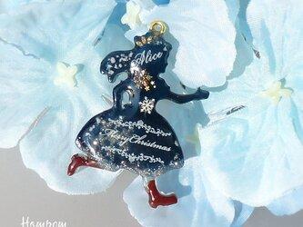 20c007 アリスのクリスマスバックチャーム ホムポムの画像