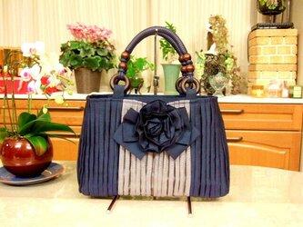 畳縁和のバッグの画像
