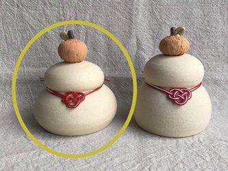 陶器の鏡餅(小)の画像