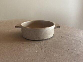 耐熱 グラタン皿 モカ(ブラウンベージュ)の画像
