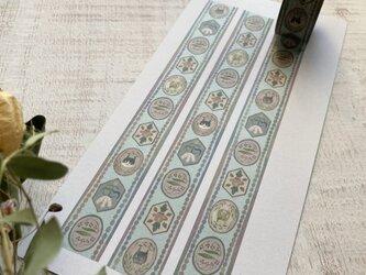 オリジナルマスキングテープ【猫の壁紙】の画像