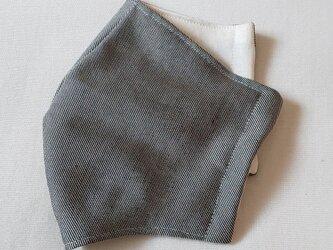 立体マスク〜受注生産〜ツイルグレーの画像