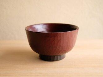 栃・手削り汁椀 (小)の画像
