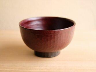 栃・手削り汁椀 12.2cmの画像