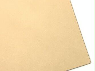 本革A4サイズ ヌメ革 1mmの画像