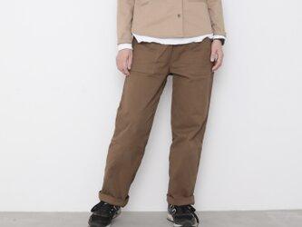 Baker pants / russet brownの画像