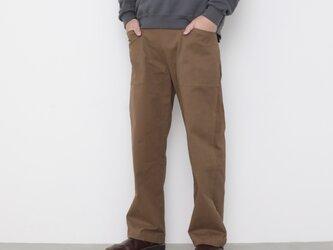 Baker pants Ⅱ / russet brownの画像