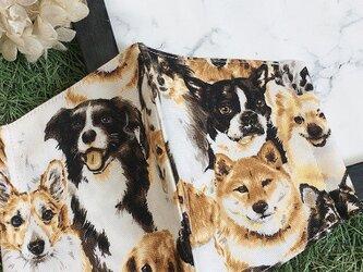 秋冬マスク 立体マスク キッズ オトナ 犬の画像