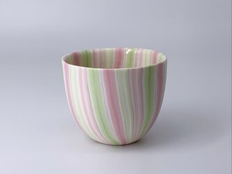 練り込みカップ stripeの画像