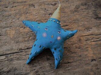 トルコブルーの星の画像