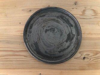 8寸丸プレート 鉄錆の画像