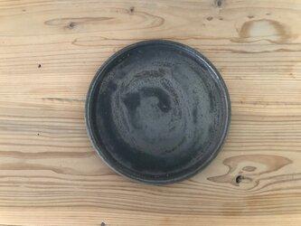 6寸丸プレート 鉄錆の画像