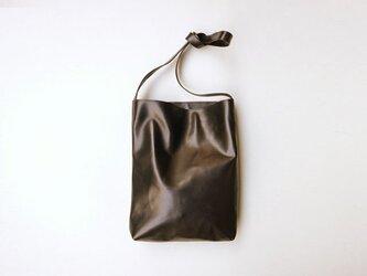 程よい袋 BLACK カーフ(牛革)の画像