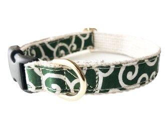 Karakusa DogCollar, Green(唐草 犬用首輪, グリーン)の画像