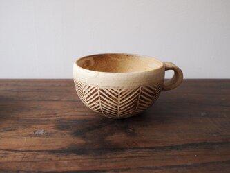 【冬限定】手彫りスープカップの画像