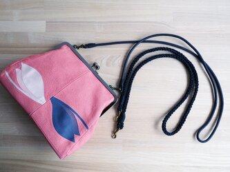 K's バッグ用ショルダーストラップ組みひもタイプ・コードタイプ(黒)の画像