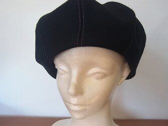 カシミヤのベレー帽の画像
