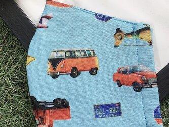 秋冬マスク 立体マスク キッズ オトナ 車 バス 飛行機の画像