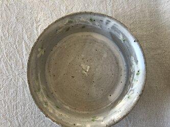 粉引きの中深鉢(ミモザ柄)の画像