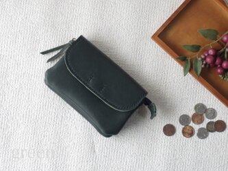 柔らかなお財布(green)の画像