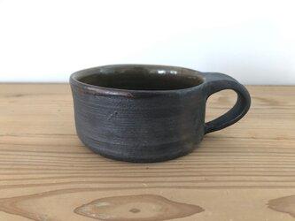 平マグカップ 錆の画像