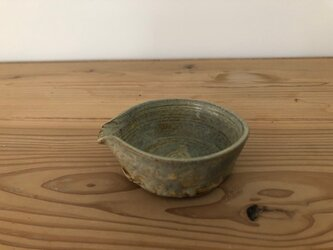 片口豆鉢 さびあさぎの画像