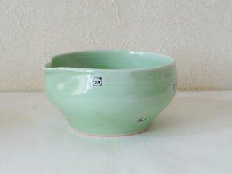 水玉パンダ片口小鉢の画像