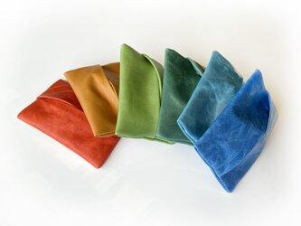 カラフルな馬革ティッシュケース  選べる全6色(限定色有り)の画像