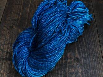 正藍染綿糸 約φ2mm 140mの画像