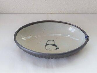 パンダカレー皿の画像