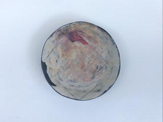 化粧掻き落とし文様 皿124の画像