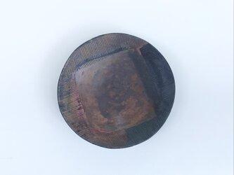 化粧掻き落とし文様 皿126の画像