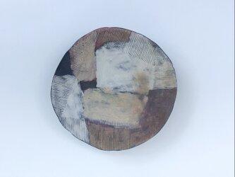 化粧掻き落とし文様 皿128の画像