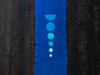 正藍染手拭い(焦点)の画像