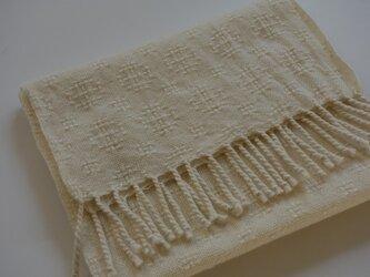 手織りマフラー・・2020クリスマスⅱの画像