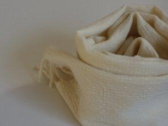 手織りマフラー・・2020クリスマスⅰの画像