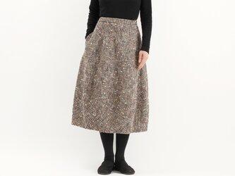バルーンスカート(ツィード変わり織)#351の画像