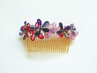 髪飾り*couture color コームLの画像