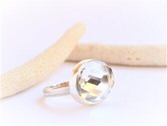 クリスタルAAA Silver Ringの画像