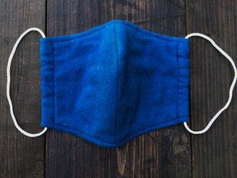 正藍染マスクの画像