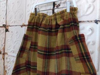 クリスマスセール!ふわふわウールの大人バルーンスカートの画像