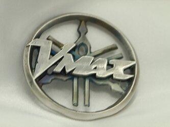 VMAX音叉マークキーホルダー高級希少金属コバルト製の画像