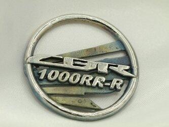 CBR1000RRRウイングマークキーホルダー高級希少金属コバルト製の画像