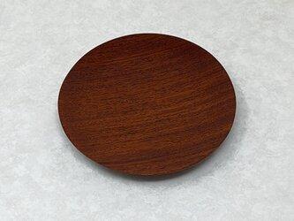 かりん5寸丸皿 5kr-2  の画像