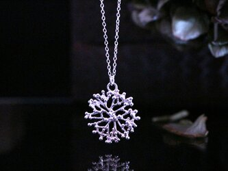 Silver necklace「The sound of the waves」の画像